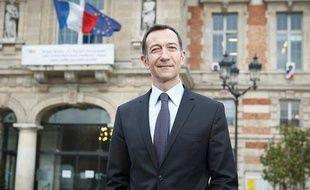 François Dagnaud, futur maire du 19eme arrondissement de Paris, le 31 janvier 2012.