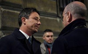Le porte-parole du gouvernement, Benjamin Griveaux, a été évacué samedi 5 janvier 2019 de ses bureaux rue de Grenelle à Paris après une intrusion violente de «gilets jaunes».