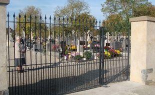 Le portail du cimetière de Treffieux a été dérobé