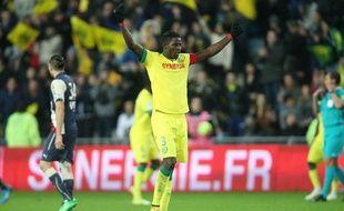 Le défenseur central du FC Nantes Papy Djilobodji.