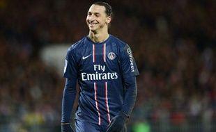 Zlatan Ibrahimovic lors de la rencontre entre le PSG et Brest le vendredi 21 décembre 2012.