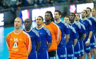 L'équipe de France de Handball à Toulouse, avant le match face à la Norvège
