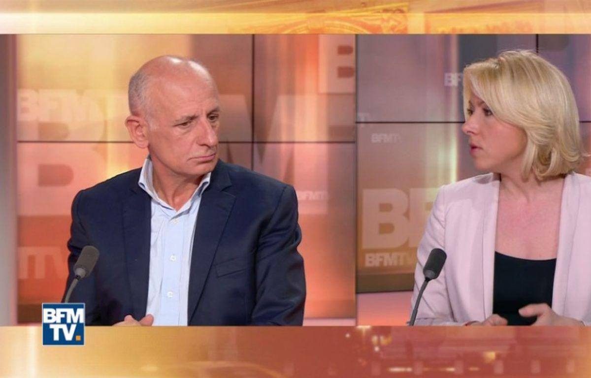 Florence Portelli a tenté de défendre François Fillon avec des arguments qui peinent à convaincre – Capture d'écran BFMTV