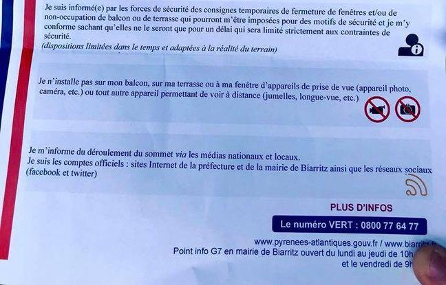 G7 de Biarritz : 13.200 policiers et gendarmes mobilisés,
