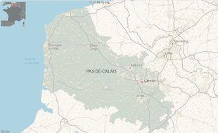 La ville de Liévin, dans le Pas-de-Calais.