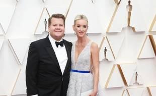 L'animateur James Corden et son épouse, Julia Carey