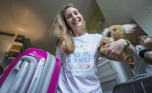 Elisa Detrez, 28ans, est finaliste dans la catégorie «guide ranger dans le Queensland» pour le concours Best Jobs in he World.