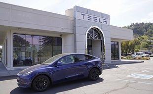 Un concessionnaire Tesla aux Etats-Unis (illustration).
