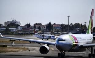 Un avion de la compagnie portugaise TAP