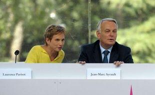 """Jean-Marc Ayrault a appelé mercredi, en ouverture de l'université d'été du Medef, le patronat et les syndicats à """"accélérer le rythme"""" de la négociation sur la sécurisation de l'emploi, dans un contexte de hausse du chômage."""