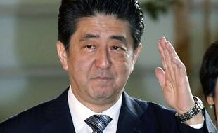 Shinzo Abe, à Tokyo le 24 décembre a été réélu Premier ministre du Japon.