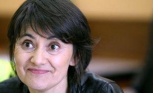 """Nathalie Arthaud, candidate de Lutte ouvrière à la présidentielle, a jugé vendredi que François Hollande, en """"gestionnaire rigoureux du capitalisme"""", n'avait """"rien à dire aux travailleurs, si ce n'est pour leur promettre des sacrifices""""."""