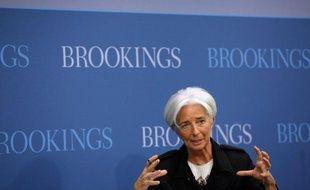 La directrice générale du Fonds monétaire international Christine Lagarde a revu à la baisse jeudi les besoins financiers de son institution, qu'elle demande aux pays membres de lui apporter mais que les Etats-Unis lui refusent