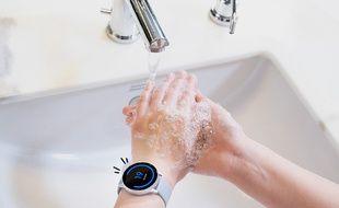 Samsung imagine une appli dédiée au lavage de mains