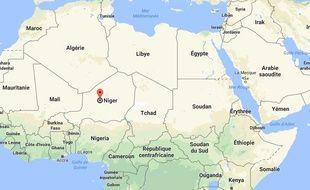 Capture d'écran du Niger