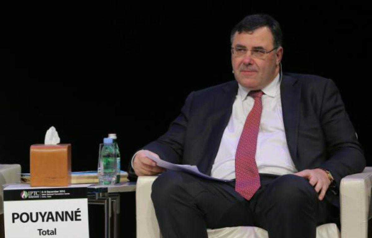 Le directeur général de Total, Patrick Pouyanné, le 7 décembre 2015 à Doha – KARIM JAAFAR AL-WATAN DOHA
