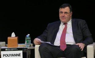 Le directeur général de Total, Patrick Pouyanné, le 7 décembre 2015 à Doha