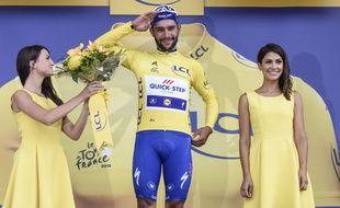 Gaviria tentera de défendre son maillot jaune