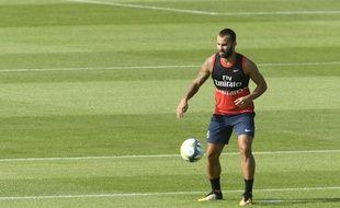 Jesé le 4 juillet 2017 à Saint-Germain-en-Laye.