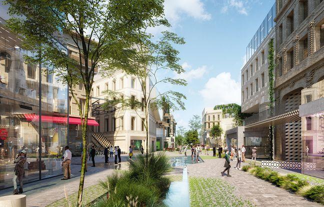 Le projet de Rue Bordelaise, prévoit plus de 30.000 m2 de surfaces commerciales, dont 23.000 m2 de nouvelles enseignes