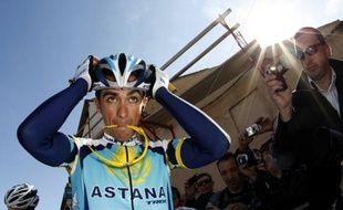 Alberto Contador lors de Paris-Nice 2009.