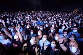 Concert expérimental pendant la crise sanitaire du Covid-19 en Espagne