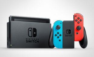 Une Nintendo Switch (illustration).