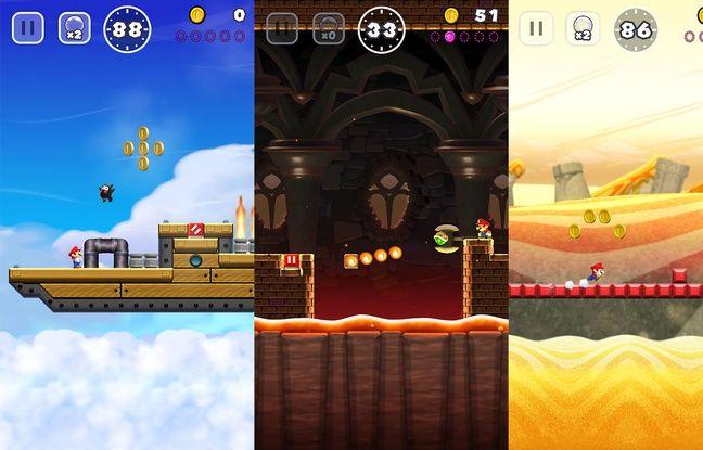 Des niveaux variés et colorés parfaitement dans l'esprit des jeux Mario.