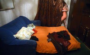 Une jeune femme prostituée. (Illustration)