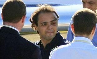 Felipe Massa le 3 août 2009 à Budapest