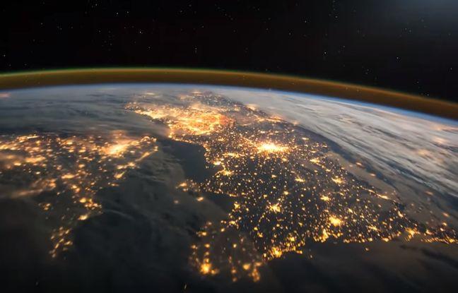 L'astronaute britannique Tim Peake a partagé, ce 17 février 2015,  sur Twitter une vidéo prise de nuit alors qu'il survolait l'Europe à bord de l'ISS.