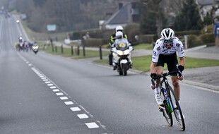 Julian Alaphilippe est de retour sur le Tour des Flandres, dimanche, un an après sa violente chute ici-même.