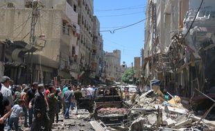 Daesh, assiégé dans son fief de Minbej, a revendiqué un attentat qui a fait au moins 20 morts près de Damas.