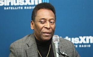 L'ancien joueur brésilien Pelé, le 2 avril 2014, à  New York.