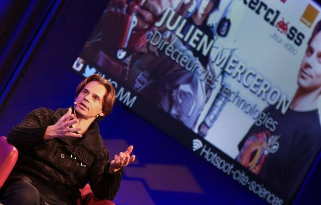 Tout au long de l'année La cité des sciences et de l'industrie organise des Masterclass autour du jeu vidéo. Ici Julien Merceron, un Français chez les Japonais de Bandai Namco.