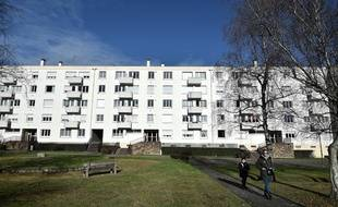 L'immeuble de Saint-Herblain où David, 8 ans, a été torturé et tué le 11 janvier 2017.