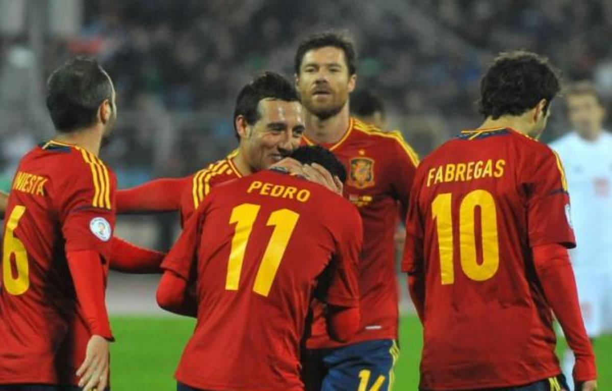 La Russie (GrF) a piégé le Portugal (1-0), vendredi dans ce choc des qualifications du Mondial-2014 de la zone Europe, tandis que l'Espagne s'est promenée au Bélarus (4-0) avec un triplé de Pedro (GrI), tout comme l'Allemagne sur la pelouse de l'Eire (6-1) dans le groupe C. – Viktor Drachev afp.com