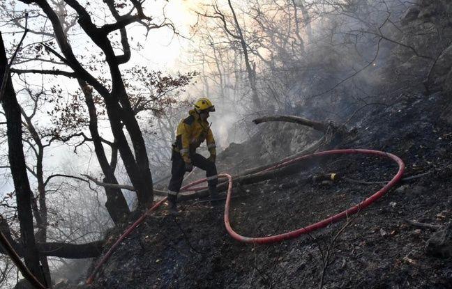 Les pompiers azuréens en opération ce lundi