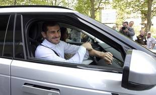 Iker Casillas, à Porto