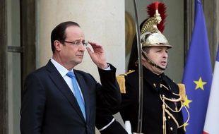 François Hollande, le 11 février 2013.