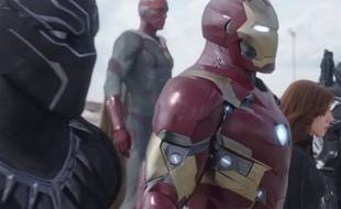 Image extraite du spot TV de «Captain America : Civil War».
