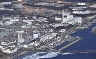 La centrale nucléaire de Fukushima, le 14 février 2021.