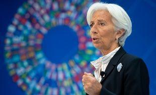 Christine Lagarde, le 10 avril 2019 à Washington.