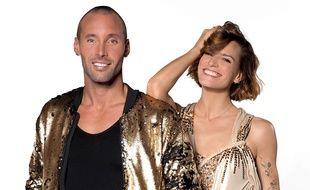 Sami El Gueddari et sa partenaire de «Danse avec les stars» Fauve Hautot.