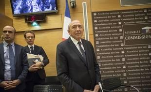 Gérard Collomb à l'Assemblée nationale, lundi 23 juillet 2018