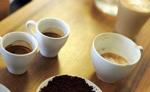 Photo d'illustration d'une tasse de café.