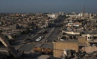 Une explosion a fait deux morts et deux blessés samedi soir dans une église copte (chrétiens d'Egypte) près de Misrata, à 200 km à l'est de Tripoli, a annoncé dimanche à l'AFP un diplomate égyptien alors que Le Caire a condamné cette action.