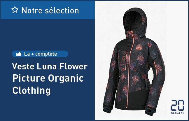 Veste Luna Flower, de Picture Organic Clothing