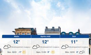 Météo Lille: Prévisions du jeudi 9 janvier 2020