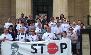 Rassemblement en mémoire d'Alexis Moulinier